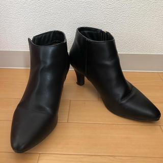 ジーナシス(JEANASIS)のショートブーツ (週末限定値下げ)(ブーツ)