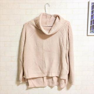 カラー(Color)のcolor ボリュームネック ニット レディース ハイネック セーター(ニット/セーター)