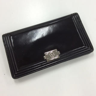 シャネル(CHANEL)のシャネル ボーイシャネル 二つ折り財布(財布)