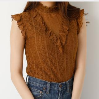 スライ(SLY)のMA—-様専用 SLY レーススタンドフリルトップス(Tシャツ(半袖/袖なし))
