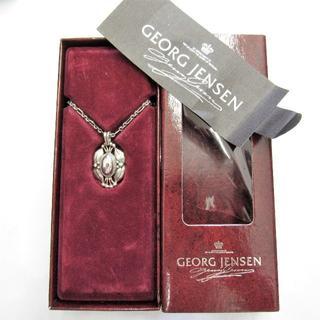 ジョージジェンセン(Georg Jensen)のジョージジェンセン 2000年 イヤー ネックレス シルバー925(ネックレス)