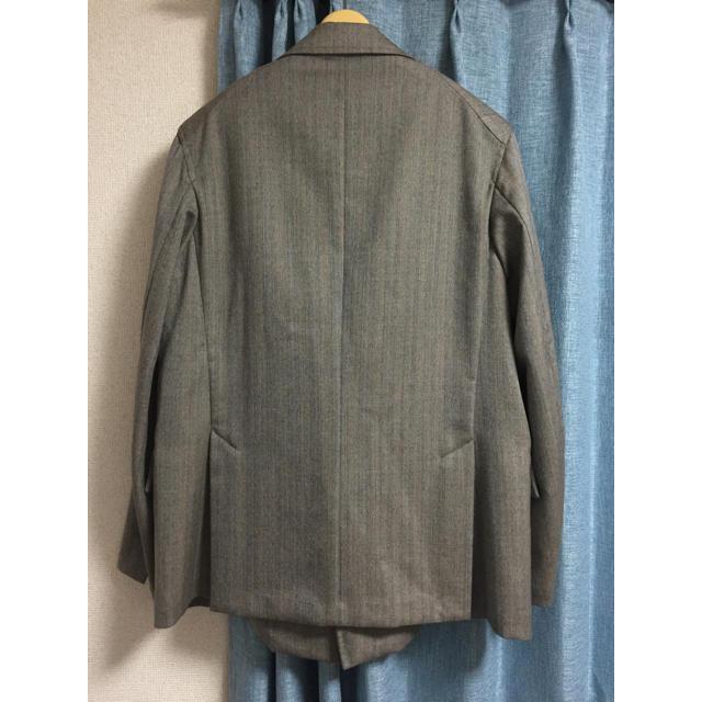 COMOLI(コモリ)のAURALEE WOOL SILK HERRINGBONE JACKET メンズのジャケット/アウター(テーラードジャケット)の商品写真