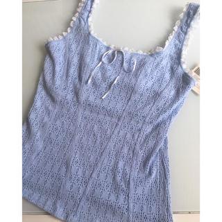 キッドブルー(KID BLUE)のARIANNE🌟アリアンヌ🌟キャミソール水色(キャミソール)