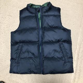 ムジルシリョウヒン(MUJI (無印良品))の無印良品 リバーシブル ダウンベスト 130(ジャケット/上着)