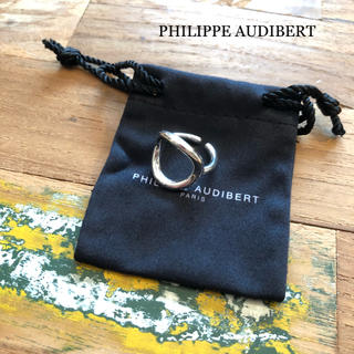 フィリップオーディベール(Philippe Audibert)の極美品⭐️今季購入⭐️フィリップ オーディベール シルバー リング(リング(指輪))