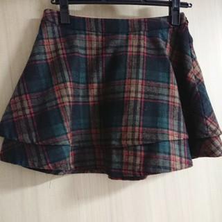 カロリナグレイサー(CAROLINA GLASER)のカロリナグレイサー チェックミニスカート(ミニスカート)