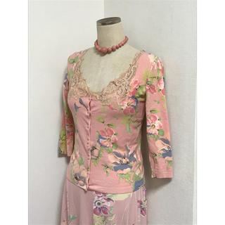 アンナモリナーリ(ANNA MOLINARI)の専用です。アンナモリナーリ 華やかな花柄 セットアップ アンサンブルとスカート(セット/コーデ)