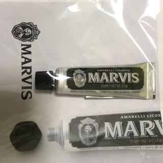 マービス(MARVIS)の新品 marvis 歯磨き粉 イタリアブランド 10ml(歯磨き粉)