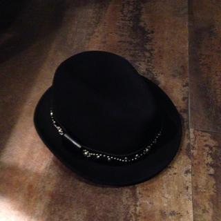 ニューヨークハット(NEW YORK HAT)の【美品】HTC × NEW YORK HAT /BLACK / L(ハット)