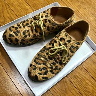 サンゴ(sango)のレオパード オックスフォードシューズ(ローファー/革靴)