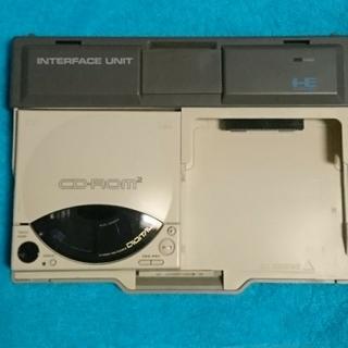 エヌイーシー(NEC)のPCE【PCエンジン CD-ROMシステム インターフェースユニット】(家庭用ゲーム機本体)
