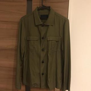ジュンハシモト(junhashimoto)のjunhashimotoミリタリーシャツ(シャツ)