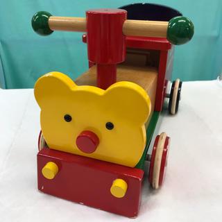 ミキハウス(mikihouse)のミキハウス 木製 乗用玩具(三輪車/乗り物)
