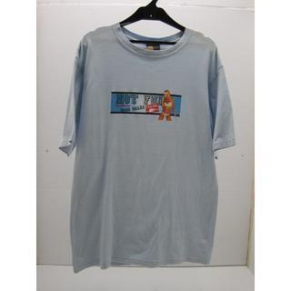 キャリー(CALEE)の*0541・CALEE キャリー 半袖Tシャツ 水色 Mサイズ 日本製(Tシャツ/カットソー(半袖/袖なし))