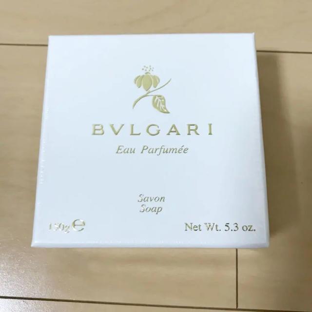 BVLGARI(ブルガリ)のブルガリ 石鹸 サボンソープ  150g コスメ/美容のボディケア(ボディソープ / 石鹸)の商品写真
