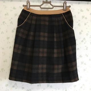 美品‼︎チェック柄スカート(ひざ丈スカート)