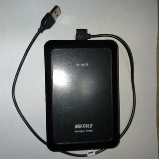 バッファロー(Buffalo)のBUFFALO HD PSG120U2-BK ポータブルハードディスク 120G(その他)