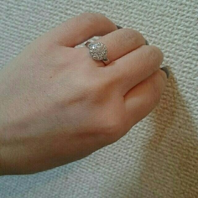PonteVecchio(ポンテヴェキオ)のルジアダ K18WG上質ダイヤリング レディースのアクセサリー(リング(指輪))の商品写真