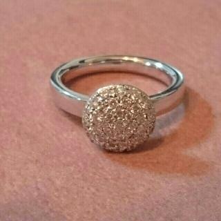 ポンテヴェキオ(PonteVecchio)のルジアダ K18WG上質ダイヤリング(リング(指輪))