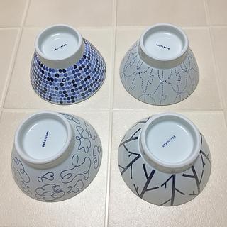 ハサミ(HASAMI)の在庫処分早い者勝ち波佐見焼 natural69 お茶わんくらわんか 4個set (食器)