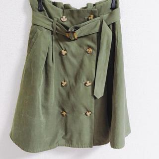 アントマリーズ(Aunt Marie's)のトレンチスカート(ひざ丈スカート)