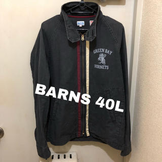 バーンズアウトフィッターズ(Barns OUTFITTERS)の日本製BARNS バーンズ レーシングジャケット ジップジャケット サイズ40 (ブルゾン)