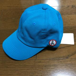 ハッカ(HAKKA)のハッカ キャップ 新品 キッズ 水色(帽子)