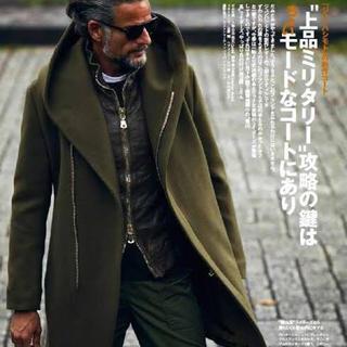 ジュンハシモト(junhashimoto)のjunhashimoto ラップコート wrap coat wjk akm (チェスターコート)