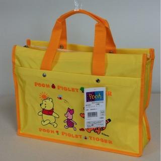 ディズニー(Disney)のレッスンバッグ  くまのプーさん 黄 7216 イエロー Disney通園・通学(通園バッグ)