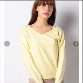 リランドチュール(Rirandture)のriko様 未使用❤︎ Rirandture パールストラップ  セーター(ニット/セーター)