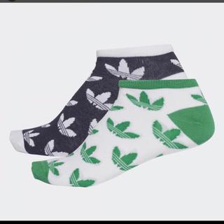 アディダス(adidas)のアディダス オリジナルス ソックス 靴下 アンクル 新品 アンクル 22.23(ソックス)