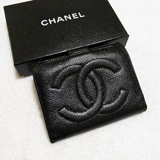 シャネル(CHANEL)のお買い得!綺麗!シャネル  キャビア  デカココマーク  ガマ口  財布(財布)
