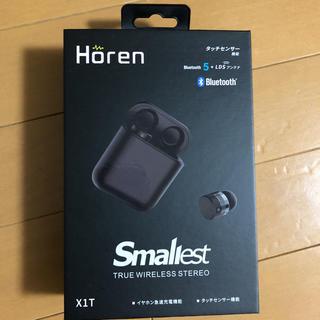 アイフォーン(iPhone)の☆新品☆未開封☆ Horen Bluetooth イヤホン(ヘッドフォン/イヤフォン)