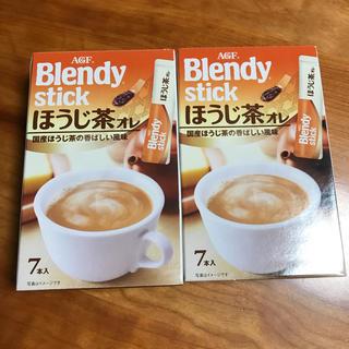 人気⭕️ ブレンディ ほうじ茶 オレ ラテ(茶)