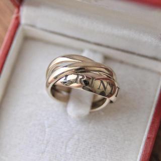 カルティエ(Cartier)のともりん様専用 Cartier カルティエ 限定 トリニティリング 49(リング(指輪))