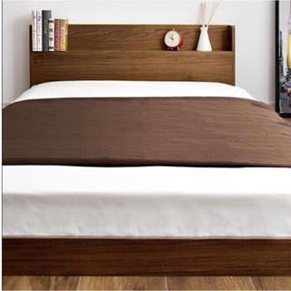 【送料無料】 ローベッド シングルベッド すのこベッド(すのこベッド)