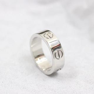 カルティエ(Cartier)のカルティエリング 指輪 新品に近い お買い得 値引き可能 送料無料(リング(指輪))