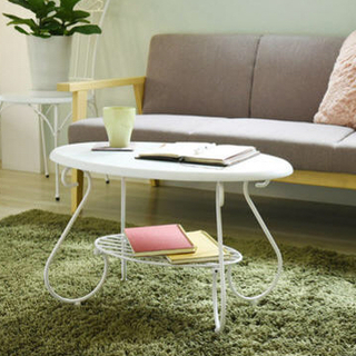 開店記念セール◆アイアンの装飾がクラシックなお部屋を演出するローテーブル(ローテーブル)