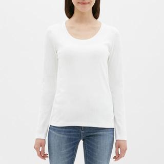 ジーユー(GU)のタグ付き 新品未使用(Tシャツ(長袖/七分))