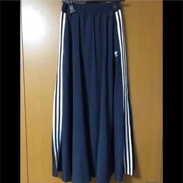 adidas(アディダス)の希少 完売 adidas ロング スカート レディースのスカート(ロングスカート)の商品写真
