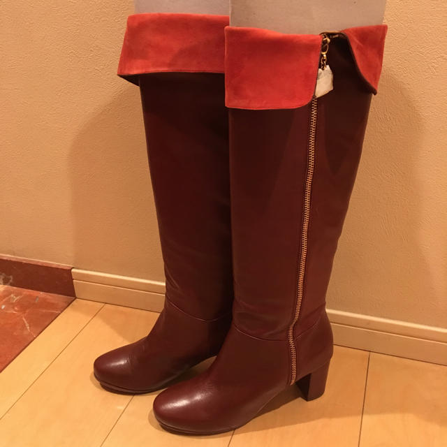 MARC BY MARC JACOBS(マークバイマークジェイコブス)の新品未使用!マークバイマークジェイコブス ロングブーツ レディースの靴/シューズ(ブーツ)の商品写真