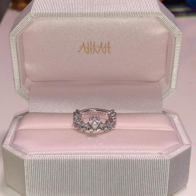AHKAH(アーカー)のAHKAH アーカー プリマヴェーラ リングPT900 レディースのアクセサリー(リング(指輪))の商品写真
