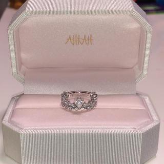 アーカー(AHKAH)のAHKAH アーカー プリマヴェーラ リングPT900(リング(指輪))
