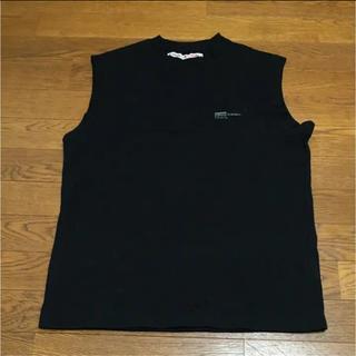 ハイドアンドシーク(HIDE AND SEEK)のハイドアンドシーク ノースリーブ カットソー L(Tシャツ/カットソー(七分/長袖))