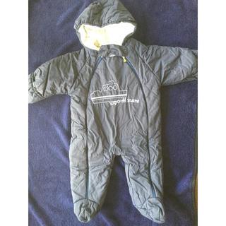 ニネッタ(NINETTA)の赤ちゃん おくるみ アウター ジャンプスーツ アフガン 60 70 ニネッタ(ジャケット/コート)