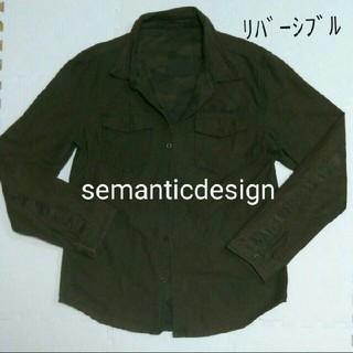 semanticdesign  未使用♪   ジャケット?シャツ