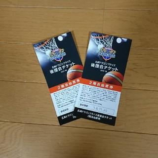 ドラゴンフライズチケット2枚セット(バスケットボール)