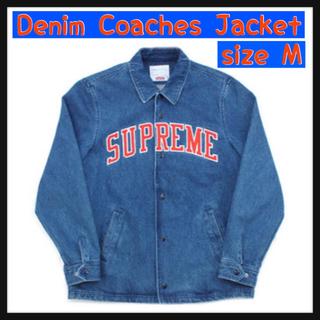 シュプリーム(Supreme)の【M】Denim Coaches Jacket(Gジャン/デニムジャケット)