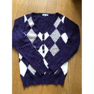 ザジ(ZAZIE)の女性 アーガイル柄セーター(ニット/セーター)