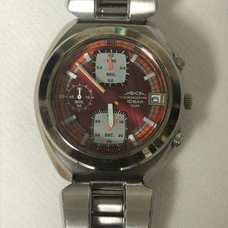 アルバ(ALBA)のALBA アナログ腕時計 AKA レッド(腕時計(アナログ))